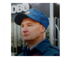 Охранник ВОХР в г.Самара (Петра-Дубрава)